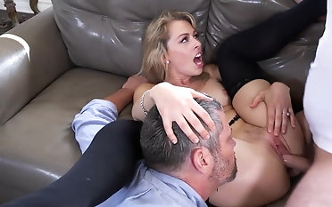 Mind squalid cuckold shag on chum around with annoy Davenport with Zoey Monroe