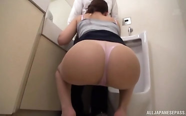 Sexy Kashii Ria sucks a long fat cock like there is no tomorrow