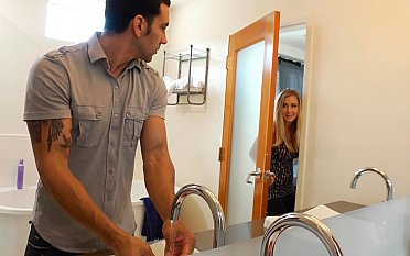 Simmering girlfriend can't repel disturbing him