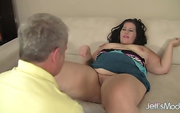 Sensual Fat Cosset Becki Virus Takes a Deep Dicking